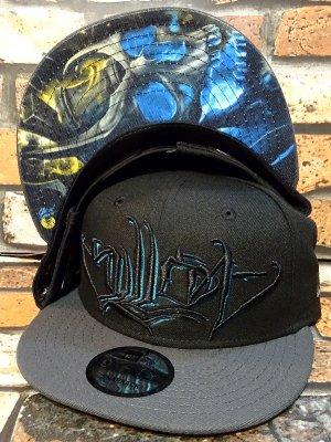 sullen clothing サレンクロージング スナップバック キャップ (legendary)  new era snapback cap カラー:ブラック