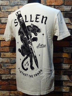 sullen clothing サレンクロージング Tシャツ(Cut Off)  カラー:オフホワイト