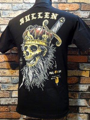 sullen clothing サレンクロージング Tシャツ(Noble King) カラー:ブラック