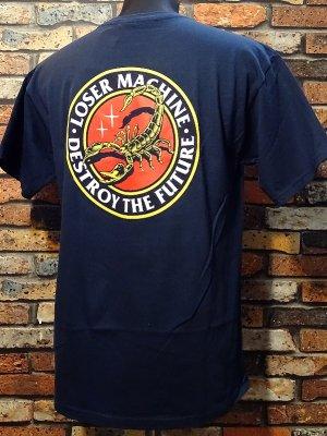 LOSER MACHINE ルーザーマシーン Tシャツ (Stinger) カラー:ネイビー