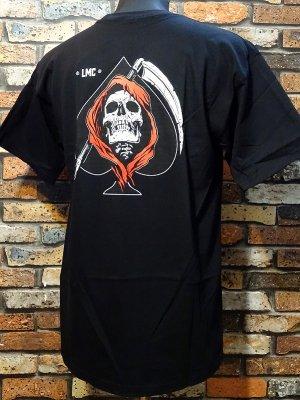 LOSER MACHINE ルーザーマシーン Tシャツ (LMC Ace) カラー:ブラック