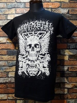 BABYMETAL ベビーメタル(べビメタ) USA正規ライセンスTシャツ(CROSSBONE EYE SKELETON) カラー:ブラック