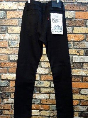parasite パラサイト ストレッチ スキニーパンツ (PST004P black) カラー:ブラック