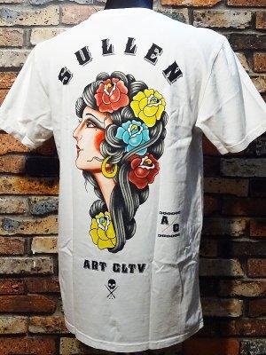 sullen clothing サレンクロージング Tシャツ(Gypsy Rose) カラー:ホワイト