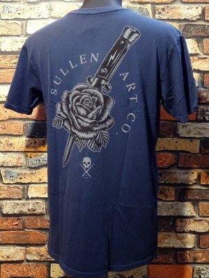 sullen clothing サレンクロージング Tシャツ(BETRAYED) カラー:ネイビー