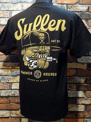 sullen clothing サレンクロージング Tシャツ(HAMMER HOUND) カラー:ブラック