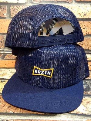 BRIXTON ブリクストン メッシュキャップ (MISSOURI MESH CAP) カラー:ネイビー