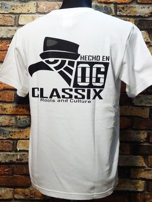 OG Classix オージークラッシックス Tシャツ (HECHO EN OG) カラー:ホワイト