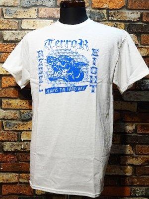 REBEL8 x TERROR レベルエイト Tシャツ  HARD WAY カラー:ホワイト