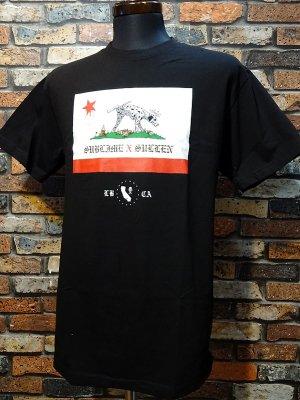 SullenClothing サレンクロージング x SUBLIME サブライム LOU DOG Tシャツ カラー:ブラック