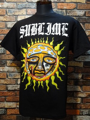 SullenClothing サレンクロージング x SUBLIME サブライム OPIE SUN  Tシャツ カラー:ブラック
