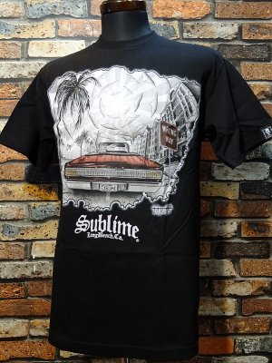 SullenClothing サレンクロージング x SUBLIME サブライム WRONG WAY Tシャツ カラー:ブラック