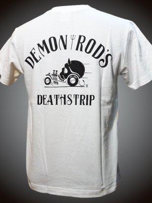 steel-hot rod wear スティール Tシャツ (STL-C080) JJ design カラー:ホワイト