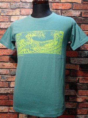 parasite パラサイト Tシャツ Peace of mind  カラー:グリーン