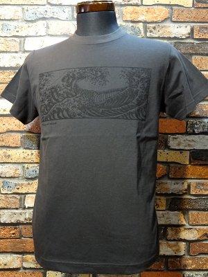parasite パラサイト Tシャツ Peace of mind  カラー:チャコール