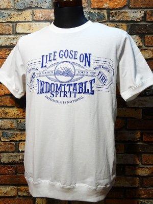 parasite パラサイト 7.1ozサイドパネルTシャツ LIFE カラー:ホワイト