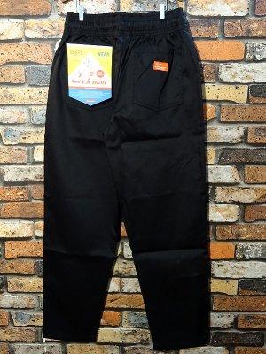 Cookman クックマン Chef Pants シェフパンツ ルーズフィット イージーパンツ (Black) コックパンツ カラー:ブラック