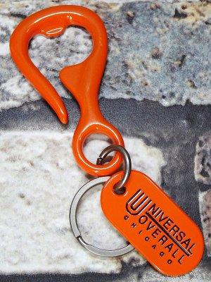 UNIVERSAL OVERALL ユニバーサルオーバーオール (ボトルオープナー型キーホルダー) キーフック カラー:オレンジ