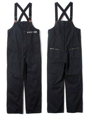 UNCROWD アンクラウド DECK PANTS デッキパンツ (UC-120-018)  カラー:ブラック
