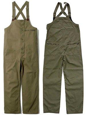 UNCROWD アンクラウド DECK PANTS デッキパンツ (UC-120-018)  カラー:カーキ