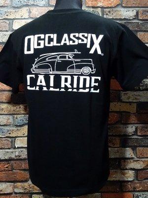 OG Classix オージークラッシックス Tシャツ (CALRIDE) カラー:ブラック