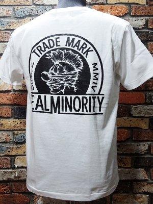 RealMinority リアルマイノリティー  Tシャツ (TRADE MARK) カラー:ホワイト