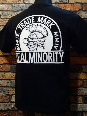RealMinority リアルマイノリティー  Tシャツ (TRADE MARK) カラー:ブラック