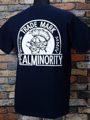 RealMinority リアルマイノリティー  Tシャツ (TRADE MARK) カラー:ネイビー