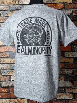 RealMinority リアルマイノリティー  Tシャツ (TRADE MARK) カラー:グレー