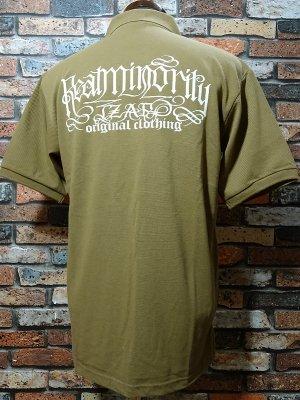 RealMinority リアルマイノリティー ポロシャツ  (SPIRAL) ビッグシルエットドロップショルダー  カラー:キャメル