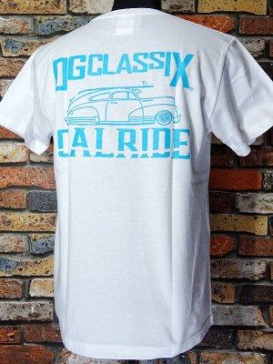 OG Classix オージークラッシックス Tシャツ (CALRIDE TOWN LIFE) カラー:ホワイト