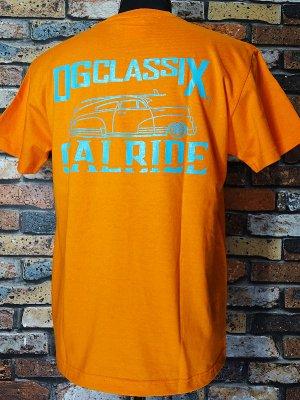 OG Classix オージークラッシックス Tシャツ (CALRIDE TOWN LIFE) カラー:オレンジ