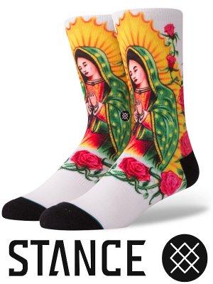 STANCE SOCKS スタンスソックス  (MARY)  カラー:ホワイト