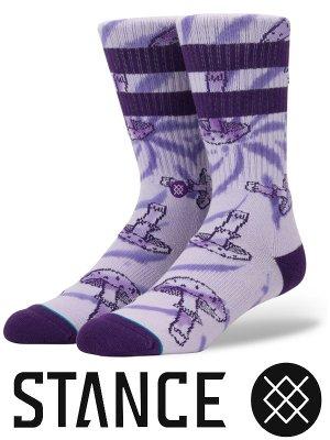STANCE SOCKS スタンスソックス  (MUSHIE)  カラー:パープル