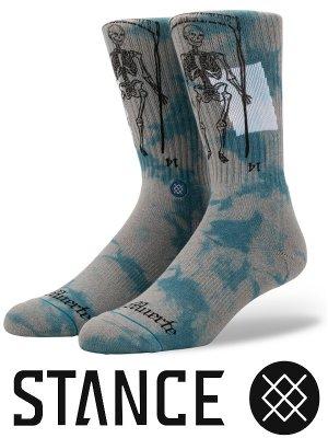 STANCE SOCKS スタンスソックス  (LA MUERTE)  カラー:グリーン