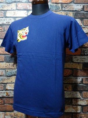 Parasite パラサイト Tシャツ (EMBROIDERY-TIGER)  カラー:ネイビー