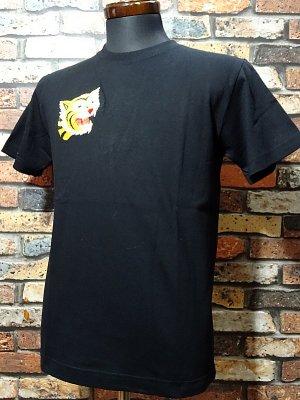 Parasite パラサイト Tシャツ (EMBROIDERY-TIGER)  カラー:ブラック