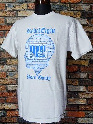 REBEL8 レベルエイト Tシャツ  CONFINEMENT カラー:ホワイト