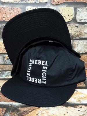 REBEL8 レベルエイト スナップバックキャップ PARADOXAL SNAPBACK CAP カラー:ブラック