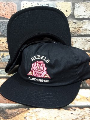 REBEL8 レベルエイト スナップバックキャップ CENTIFOLIA II SNAPBACK CAP カラー:ブラック