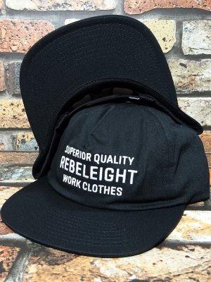 REBEL8 レベルエイト スナップバックキャップ OUTLASTING SNAPBACK CAP カラー:ブラック