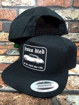 Hard Luck ハードラック スナップバックキャップ  (LOWRIDE HAT) snapback cap カラー:ブラック