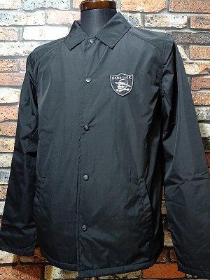 Hard Luck ハードラック コーチジャケット  (HARD SIX COACHES) coach jacket  カラー:ブラック
