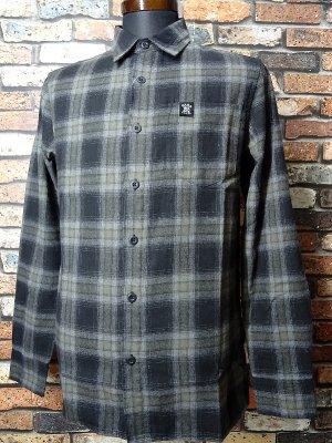 Hard Luck ハードラック  長袖フランネル チェックシャツ (CRAGAR FLANNEL SHIRTS)  カラー:ブラック系