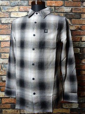 Hard Luck ハードラック  長袖フランネル チェックシャツ (BACA FLANNEL SHIRTS)  カラー:グレー系
