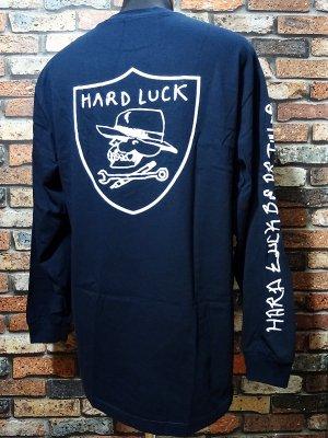 Hard Luck ハードラック ロングスリーブTシャツ (HARD SIX LONG SLEVE) カラー:ネイビー