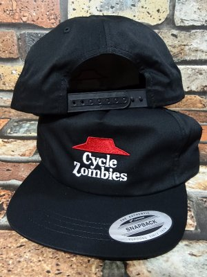 CYCLE ZOMBIES サイクルゾンビーズ  スナップバックキャップ (DIY SNAPBACK) カラー:ブラック