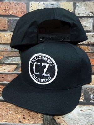CYCLE ZOMBIES サイクルゾンビーズ  スナップバックキャップ (CALIFORNIA TWILL SNAPBACK) カラー:ブラック