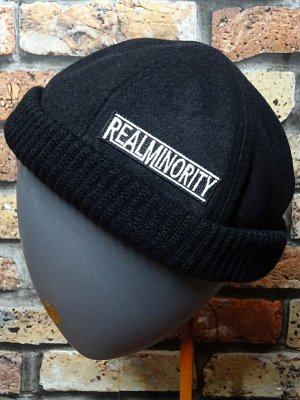 RealMinority リアルマイノリティー フィッシャーマンキャップ (TRADE MARK LOGO) カラー:ブラック