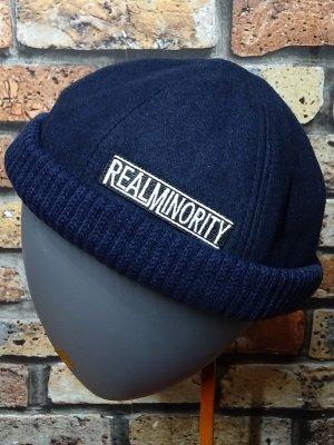 RealMinority リアルマイノリティー フィッシャーマンキャップ (TRADE MARK LOGO) カラー:ネイビー